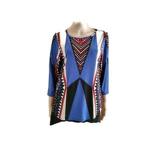 Multiples Women's Size M Stretch Casual Top